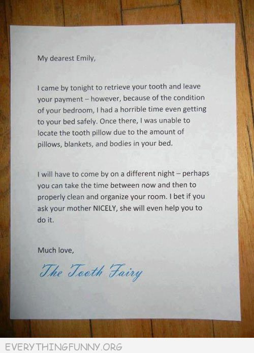 The greatest viral parenting moments in history the mom and dad behind this letter however clearly had their thinking caps on when they crafted this creative letter to their messy daughter spiritdancerdesigns Gallery
