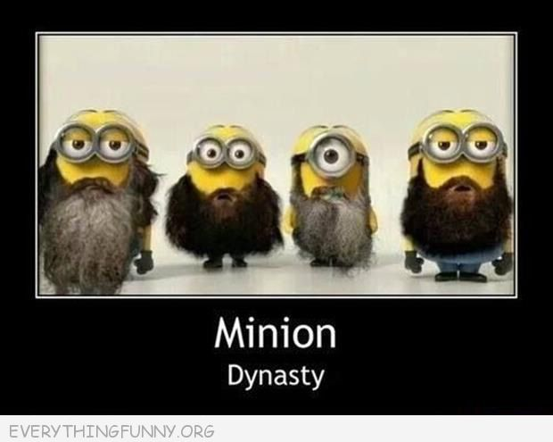 Funny caption minion dynasty