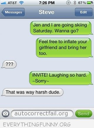 funny text feel free to inflate your girlfriend