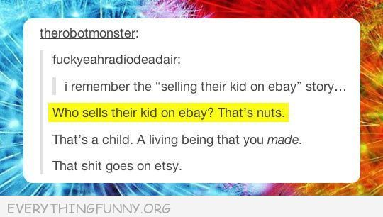 funniest tumblr text post baby made etsy