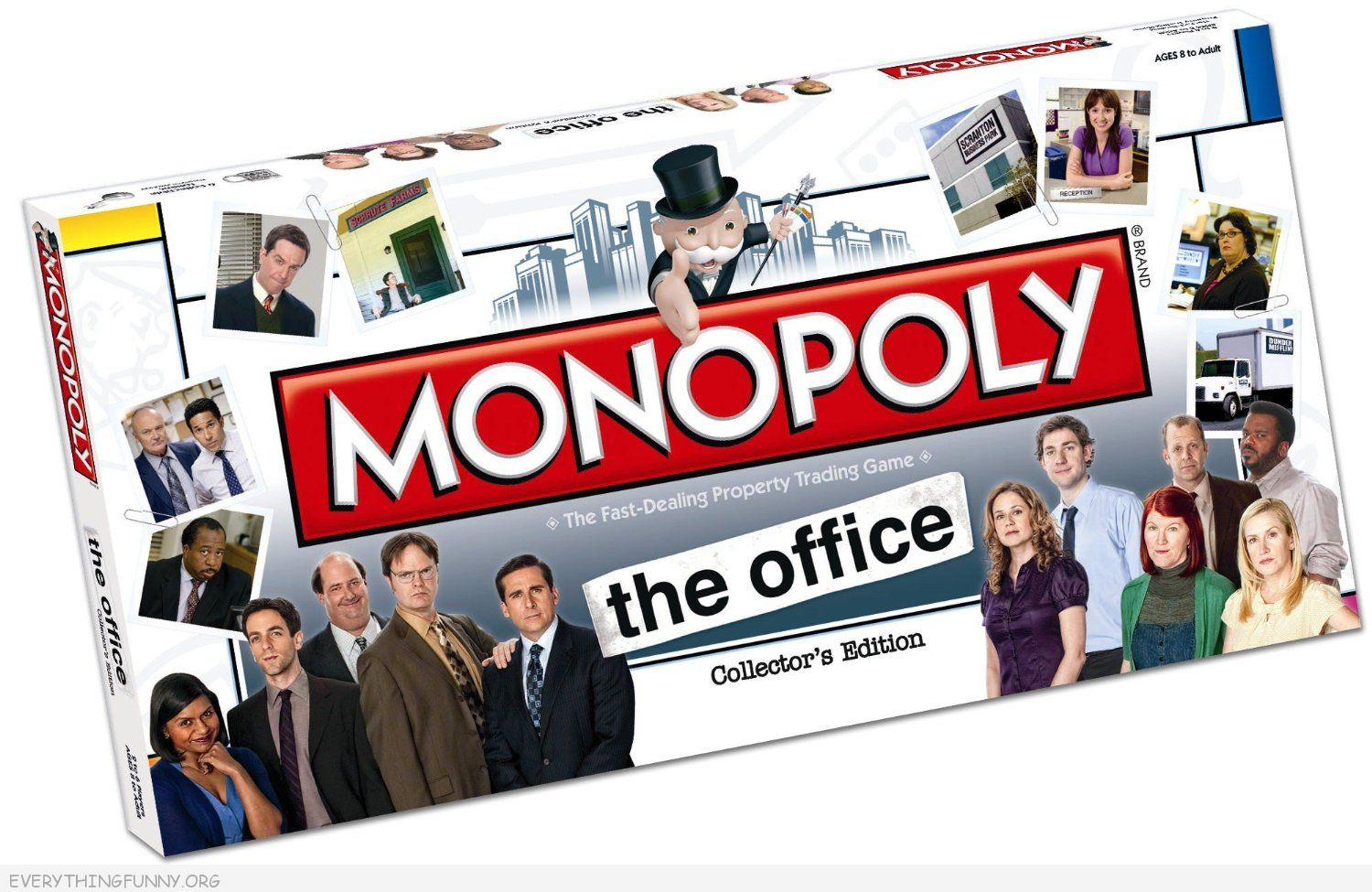 the office monopoly game, the office monopoly,