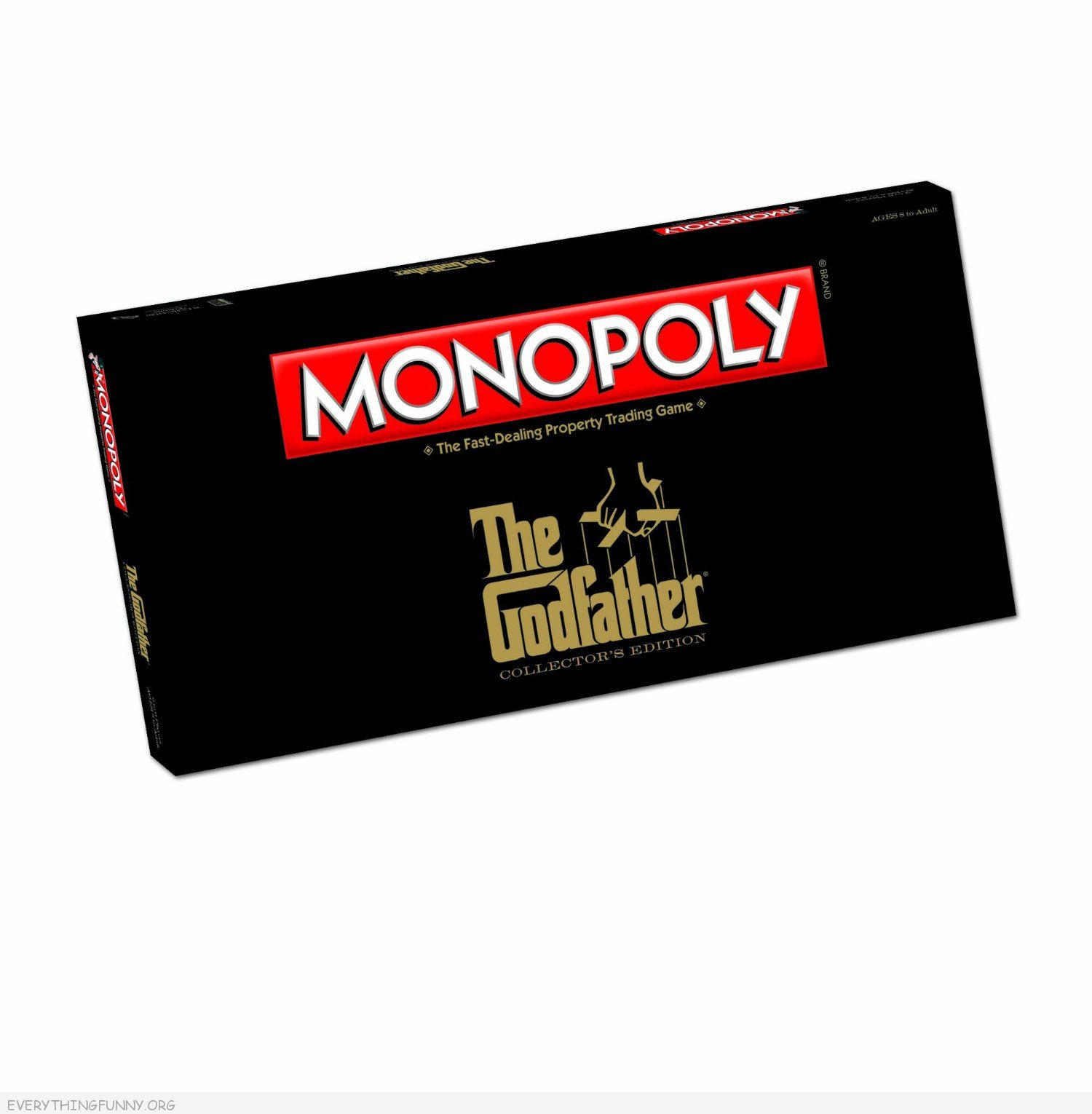 the godfather monopoly game, godfather monopoly,