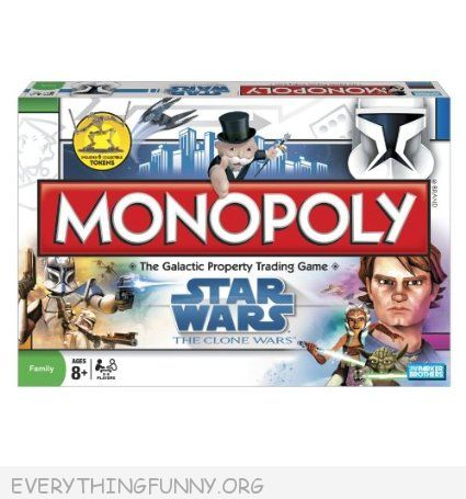 star wars monopoly game, star wars monopoly,