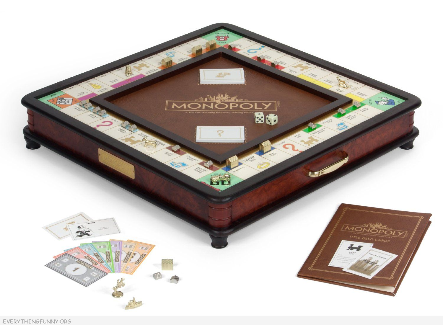 Luxury Monopoly game, executive monopoly,