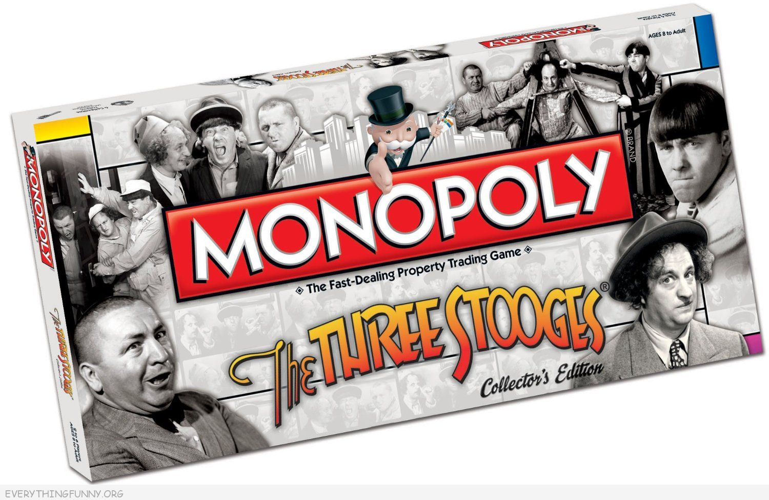 the three stooges monopoly game, 3 stooges monopoly,