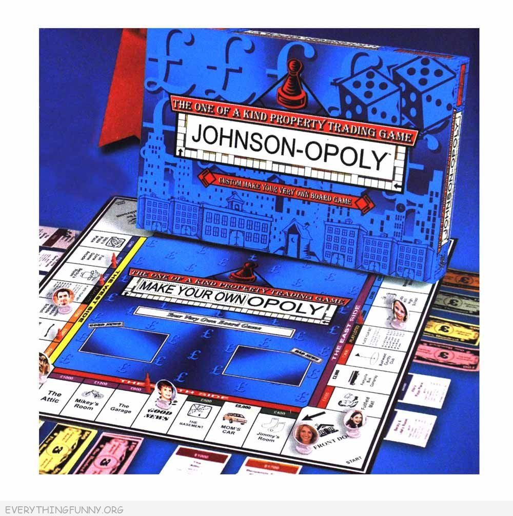 make your own monopoly game, make your own opoloy,