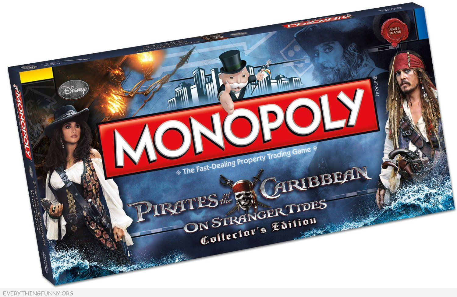 pirates of the caribbean monopoly game,