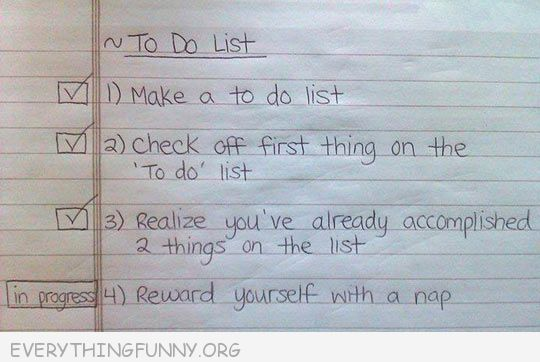 funny notes funny to do list