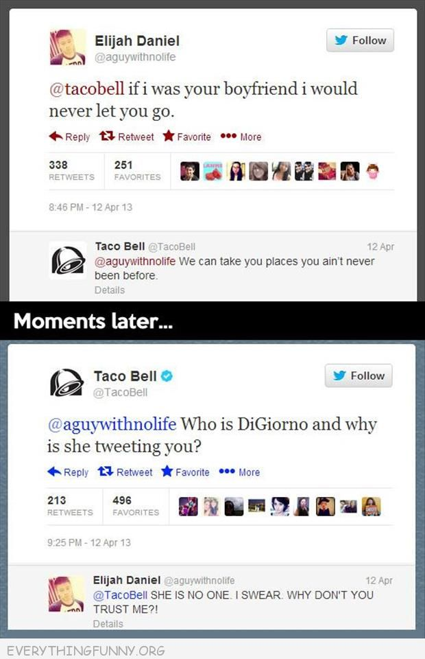 funny twitter taco bell who is digiornio