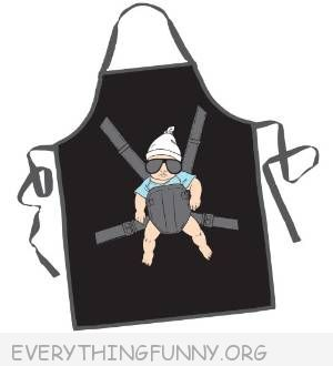 funny baby carlos the hangover funny bbq kitchen apron mens