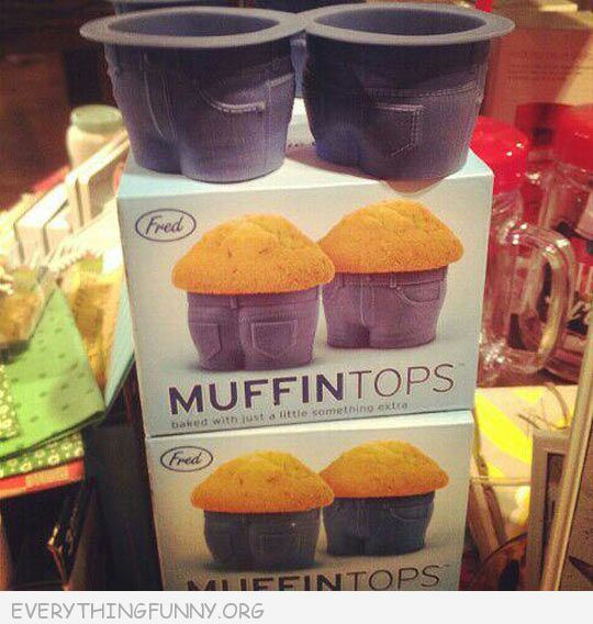 funny muffin top cupcake cups mold holder muffin pan