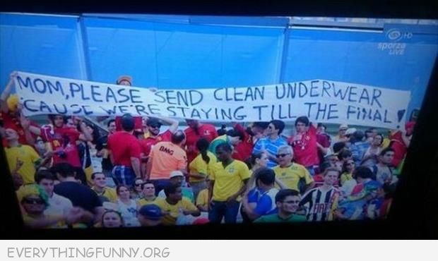 funny billboard sign mom please send clean underwear staying for finals