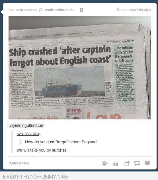 funny tumblr who forgets about england