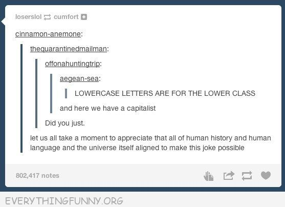 funny tumblr lower case lower class capitalism