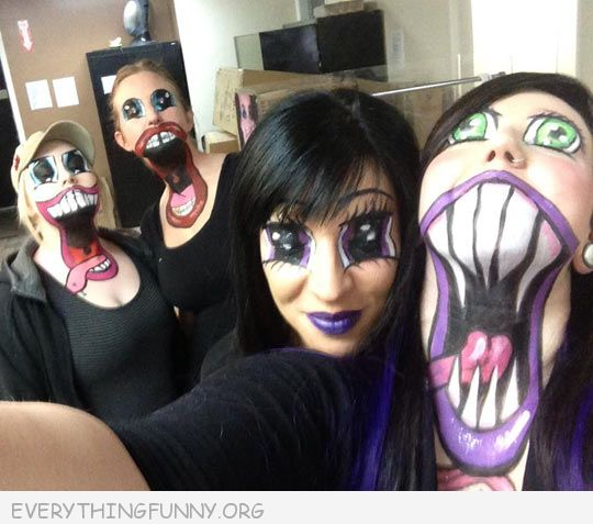 funny caption awesome anime makeup  sc 1 st  EverythingFunny.org & funny costumes Archives - Everything Funny
