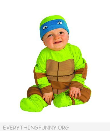 funny baby costume teenage mutant ninja turtle baby costume TMNT infant