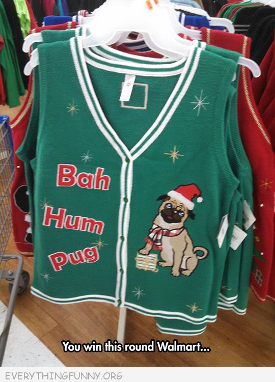 funny ugly Christmas sweater walmart wins