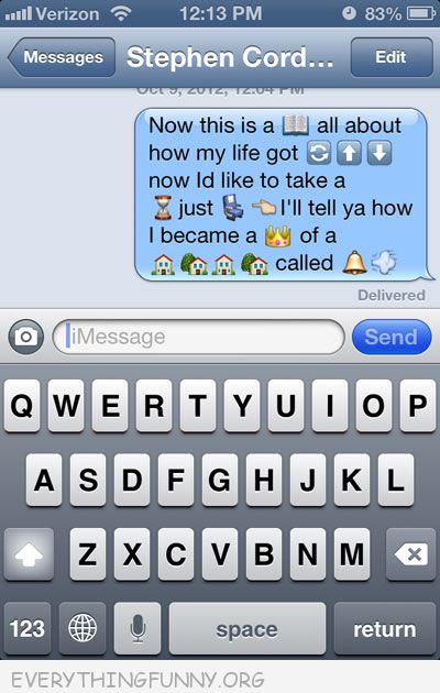 funny text messages great use of emoticons emoji icons