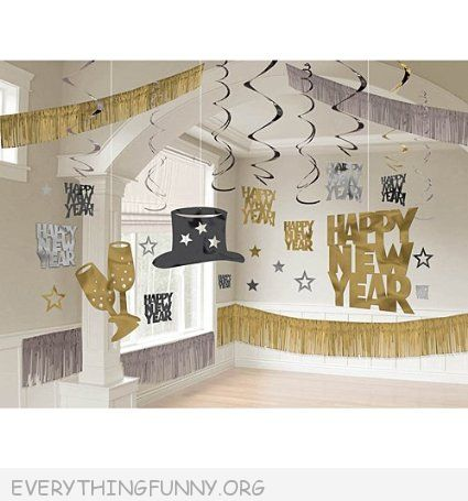 funny new years eve party decor party in a box decorations