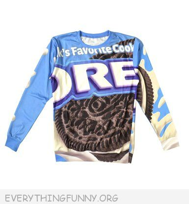 funny oreo sweatshirt tshirt shirt oreo cookie shirt