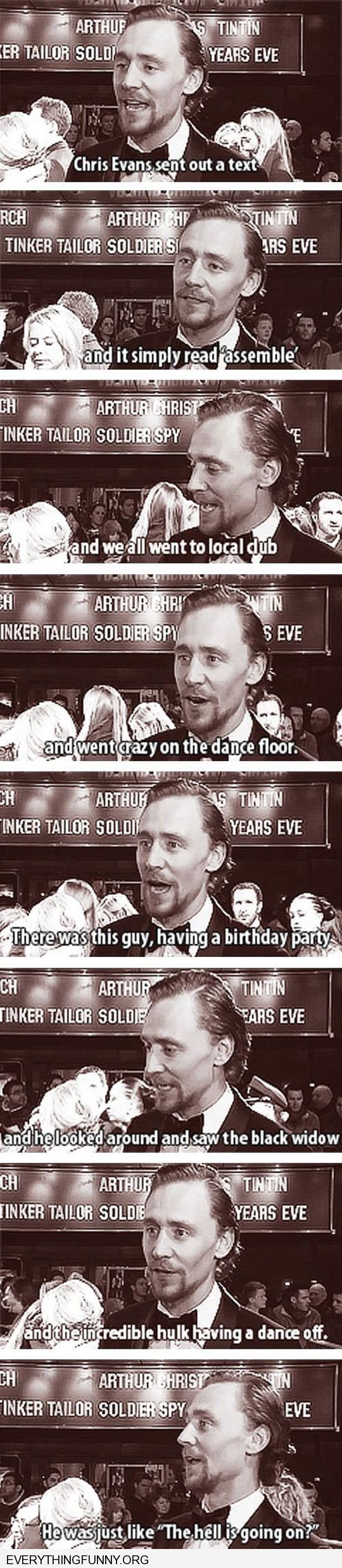 funny crew of the avengers assemble in real life at a club groom was like what is going on