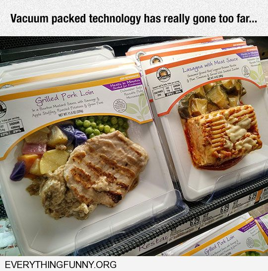 funny vacuum packed technology has really gone too far