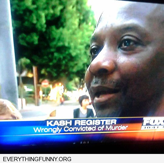 funny caption funny name newscast report kash register