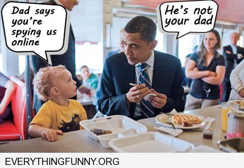 funny obama spoof little kid my dady says you are sping on us online he's not your dad