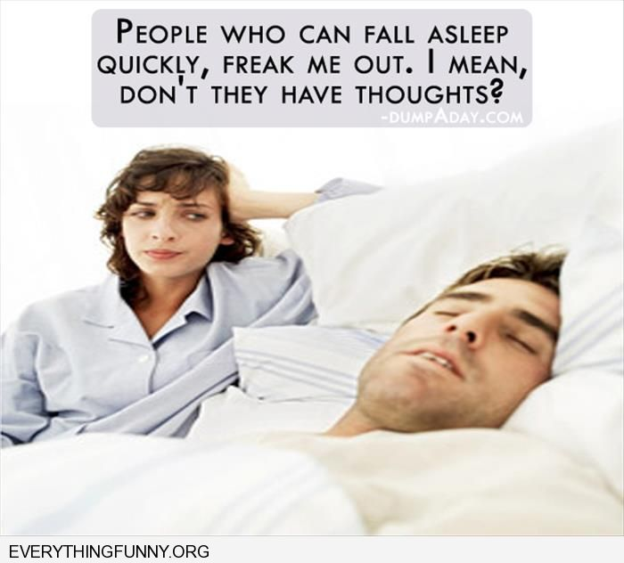funny caption people who fall asleep quickly i man don't they have thoughts