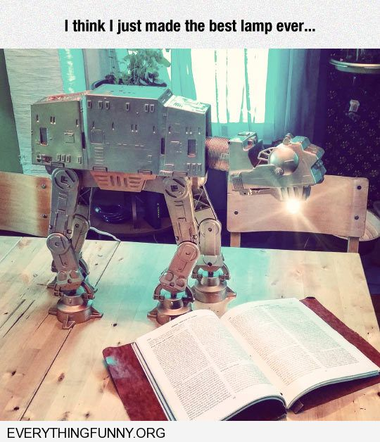 funny star wars model made best lamp ever