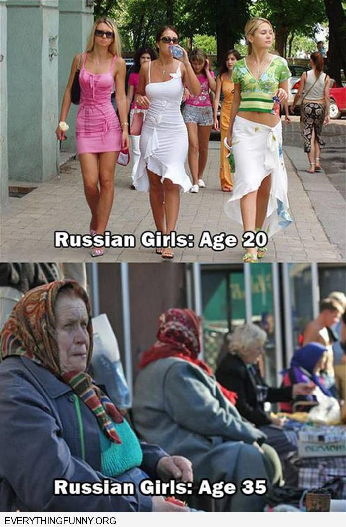 funny caption russian woman age 20 russian woman age 35