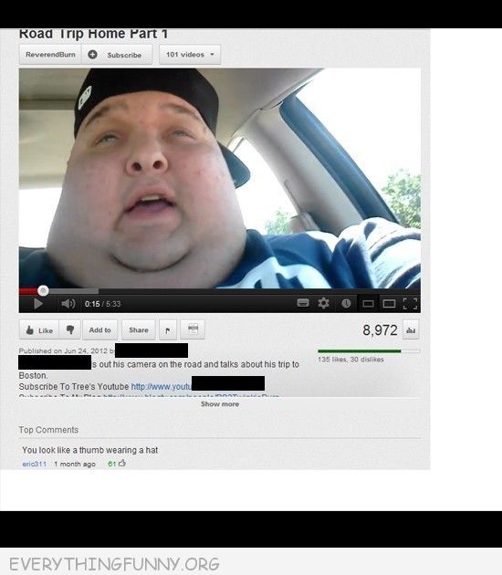 funny youtube, funny youtube comments, funny status, funny comments, funny responses,