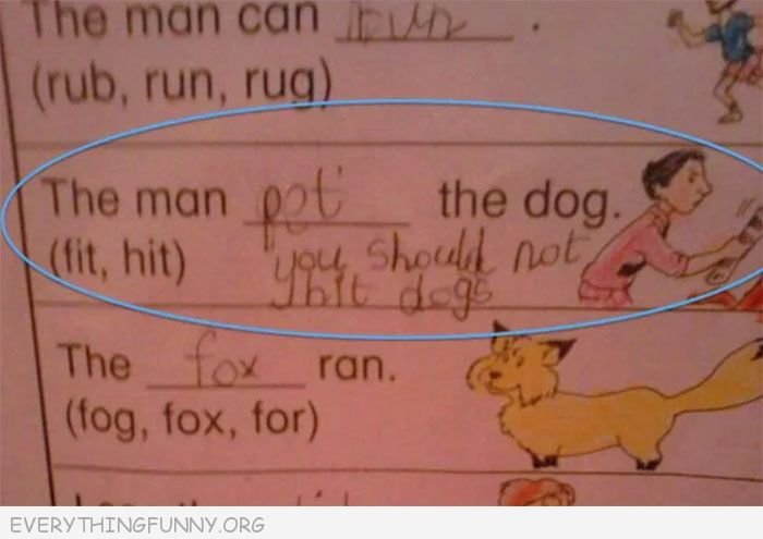Funny Test Answers Archives - Everything Funny