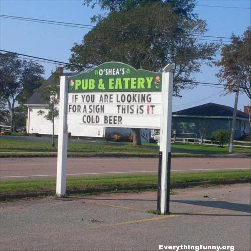 funny billboard sign if you are looking for a sign this is it cold beer