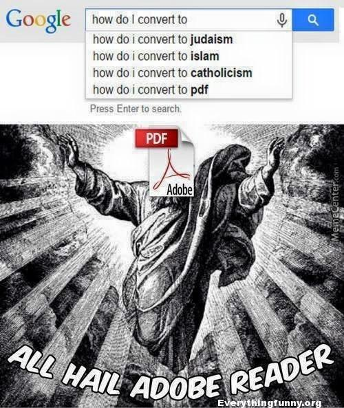 funny google search how do i convert to judiasm, catholicism, pdf,, adobe picture